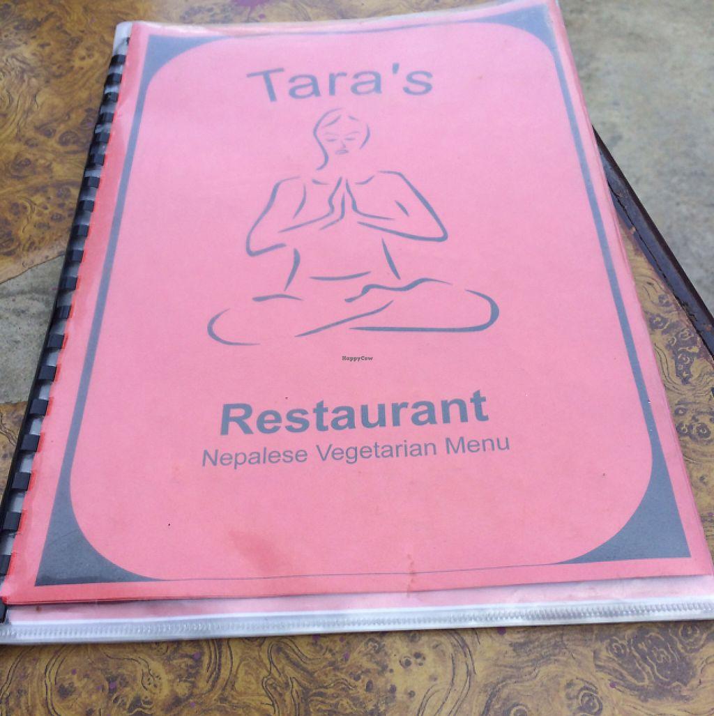 "Photo of Tara's Vegetarian Restaurant  by <a href=""/members/profile/Siup"">Siup</a> <br/>menu menu  <br/> May 14, 2017  - <a href='/contact/abuse/image/72047/258572'>Report</a>"