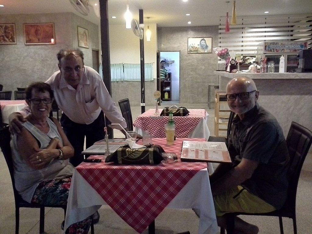 "Photo of Shahbaba Indian Restaurant  by <a href=""/members/profile/shahbaba"">shahbaba</a> <br/>Owner with customers <br/> January 26, 2017  - <a href='/contact/abuse/image/72079/217016'>Report</a>"