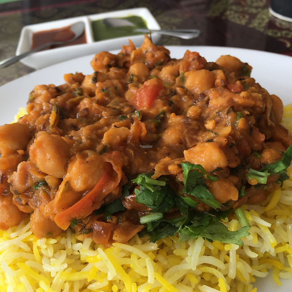 "Photo of Shahbaba Indian Restaurant  by <a href=""/members/profile/utahnate%40yahoo.com"">utahnate@yahoo.com</a> <br/>chickpeas!  <br/> April 2, 2017  - <a href='/contact/abuse/image/72079/243861'>Report</a>"