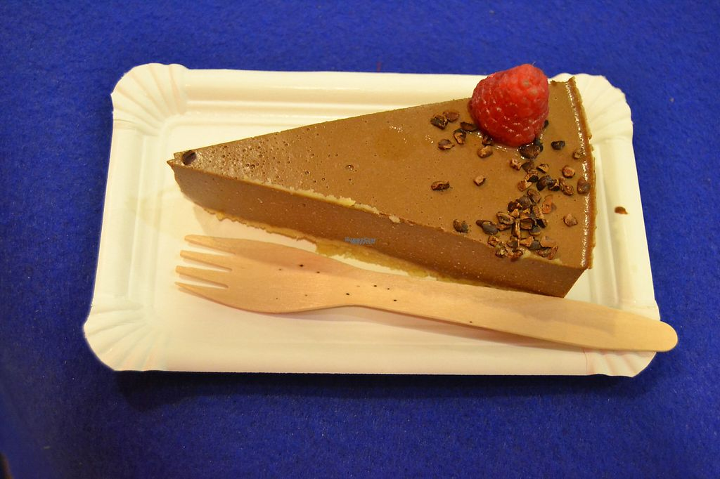"""Photo of MoMo Veg Cafe   by <a href=""""/members/profile/Amy1274"""">Amy1274</a> <br/>Chocolate 'cheesecake' <br/> March 6, 2017  - <a href='/contact/abuse/image/72083/233404'>Report</a>"""