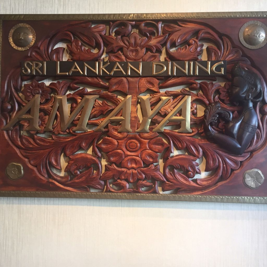 """Photo of Amaya Sri Lankan Restaurant   by <a href=""""/members/profile/Vegeiko"""">Vegeiko</a> <br/>beautiful curving  <br/> July 2, 2016  - <a href='/contact/abuse/image/72084/157258'>Report</a>"""