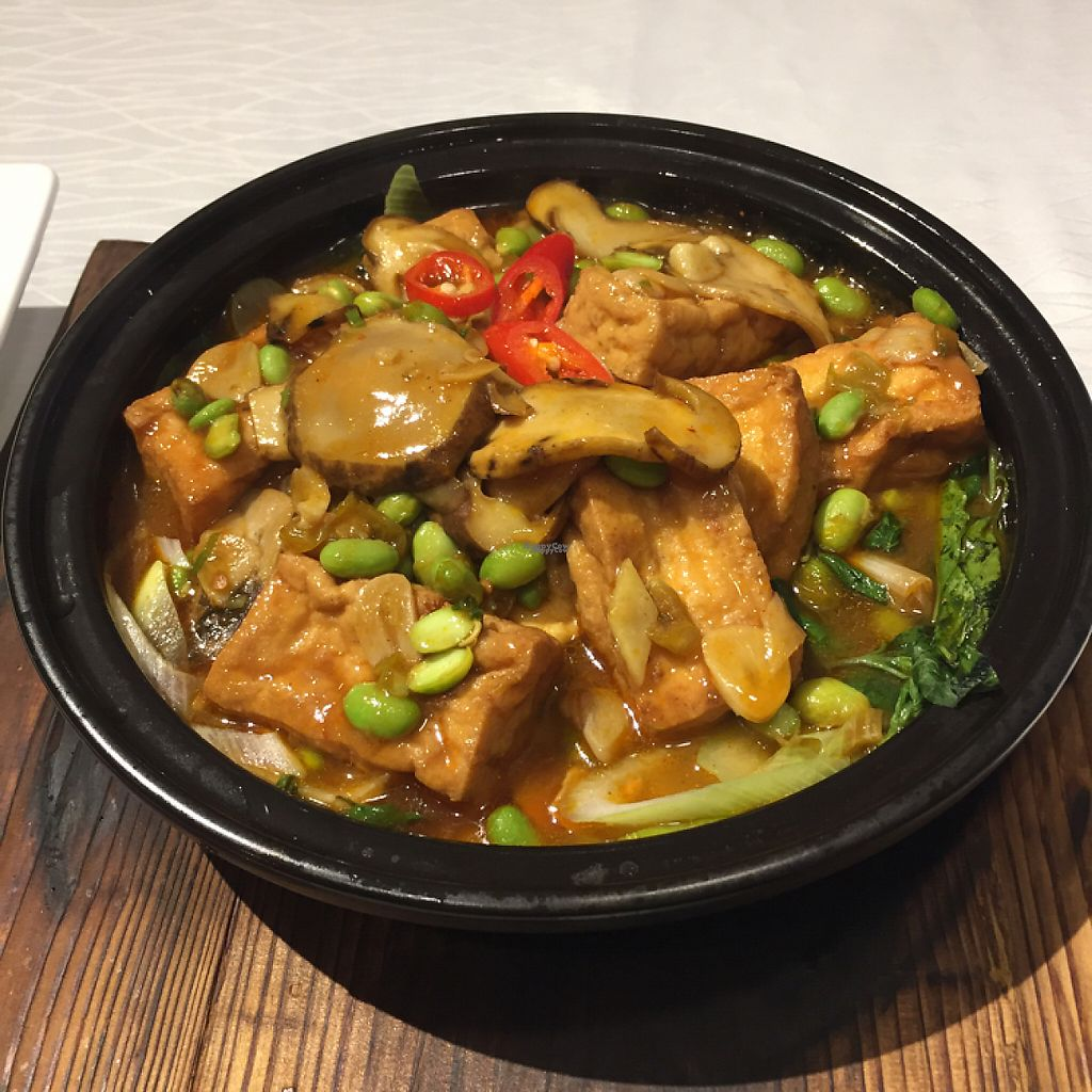 "Photo of WUJIE  by <a href=""/members/profile/Citrusink"">Citrusink</a> <br/>I can't remember exact name, but it was mushroom and tofu. had it with a bowl of rice <br/> March 29, 2017  - <a href='/contact/abuse/image/72085/242387'>Report</a>"