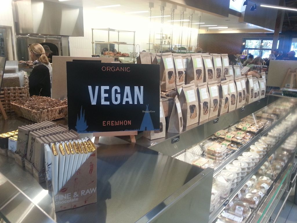 """Photo of Erewhon Market  by <a href=""""/members/profile/eric"""">eric</a> <br/>vegan options <br/> May 15, 2016  - <a href='/contact/abuse/image/72132/149166'>Report</a>"""
