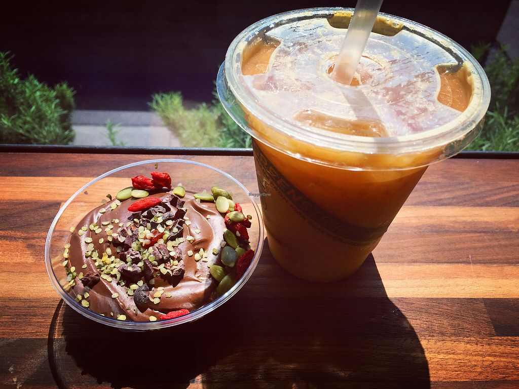 """Photo of Erewhon Market  by <a href=""""/members/profile/jergusko"""">jergusko</a> <br/>Iced coffe & chocolate mousse <br/> October 24, 2017  - <a href='/contact/abuse/image/72132/318270'>Report</a>"""
