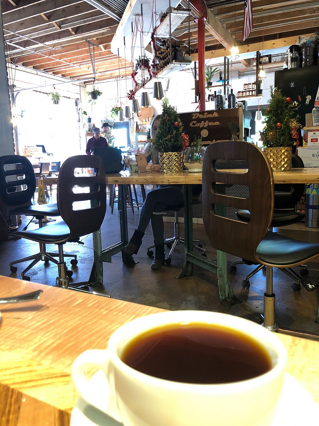 """Photo of Grind Coffee Project   by <a href=""""/members/profile/AJBaugus"""">AJBaugus</a> <br/>Great vegan food  <br/> December 10, 2017  - <a href='/contact/abuse/image/72139/334362'>Report</a>"""