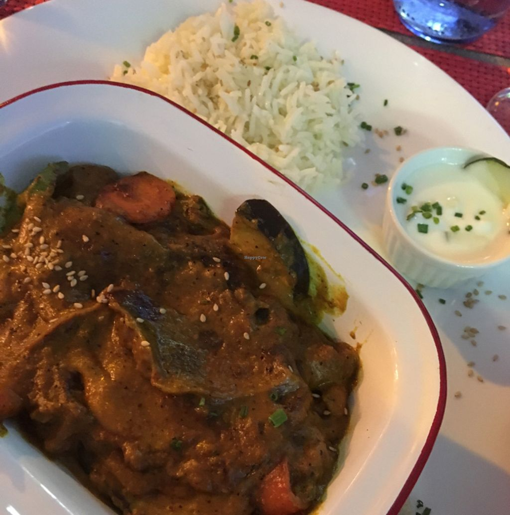 """Photo of Red Velvet Bakery  by <a href=""""/members/profile/Lolaf"""">Lolaf</a> <br/>vegan curry with rice  <br/> June 28, 2016  - <a href='/contact/abuse/image/72144/156580'>Report</a>"""