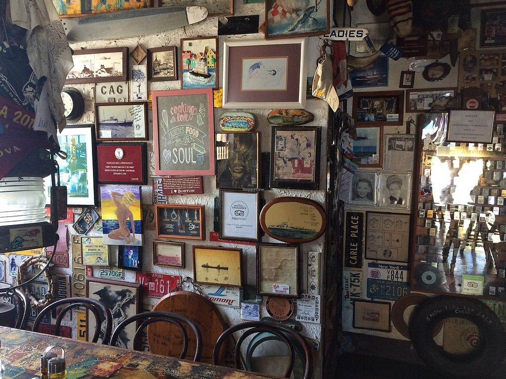 """Photo of Charlie's Bar & Restaurant  by <a href=""""/members/profile/InnocentBeingsAuthor"""">InnocentBeingsAuthor</a> <br/>Funky atmosphere  <br/> February 8, 2018  - <a href='/contact/abuse/image/72153/356553'>Report</a>"""