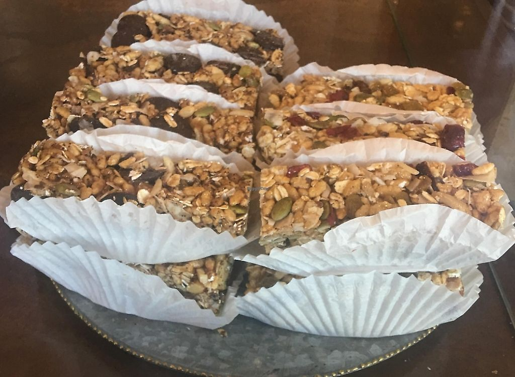 """Photo of Coffee Plant Roaster  by <a href=""""/members/profile/Arthousebill"""">Arthousebill</a> <br/>Vegan Granola bar <br/> April 8, 2016  - <a href='/contact/abuse/image/72156/219415'>Report</a>"""