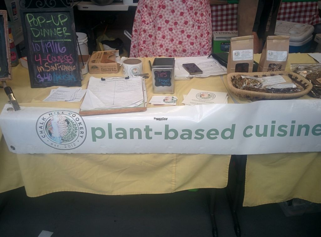 """Photo of Chalk Hill Cookery  by <a href=""""/members/profile/MizzB"""">MizzB</a> <br/>Plant based goodness sampled at San Francisco's World Veg Festival 2016 <br/> October 11, 2016  - <a href='/contact/abuse/image/72167/181370'>Report</a>"""