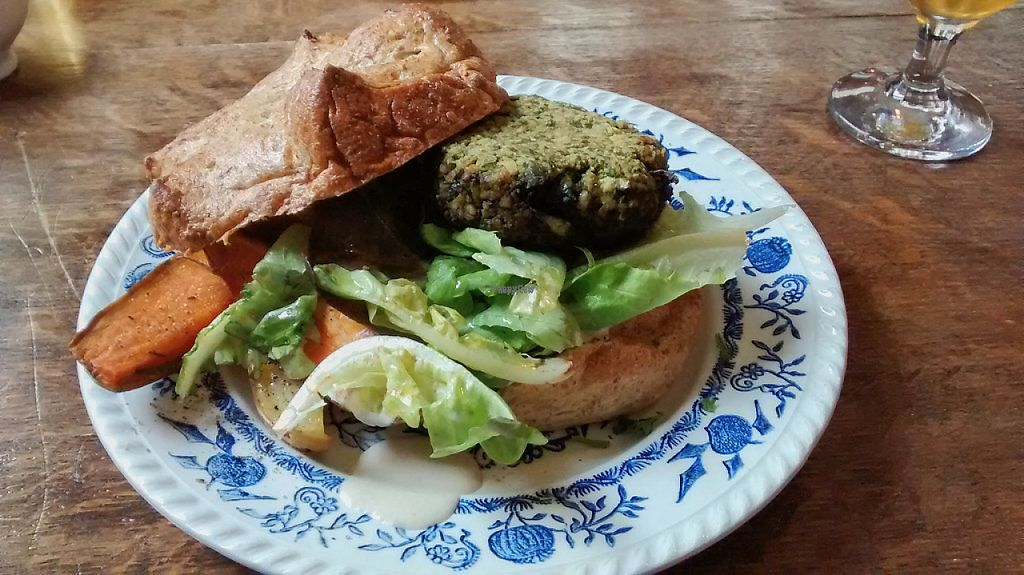 """Photo of Wild Project  by <a href=""""/members/profile/JonJon"""">JonJon</a> <br/>Vegan burger (spinach-tempeh) <br/> November 27, 2016  - <a href='/contact/abuse/image/72178/195124'>Report</a>"""