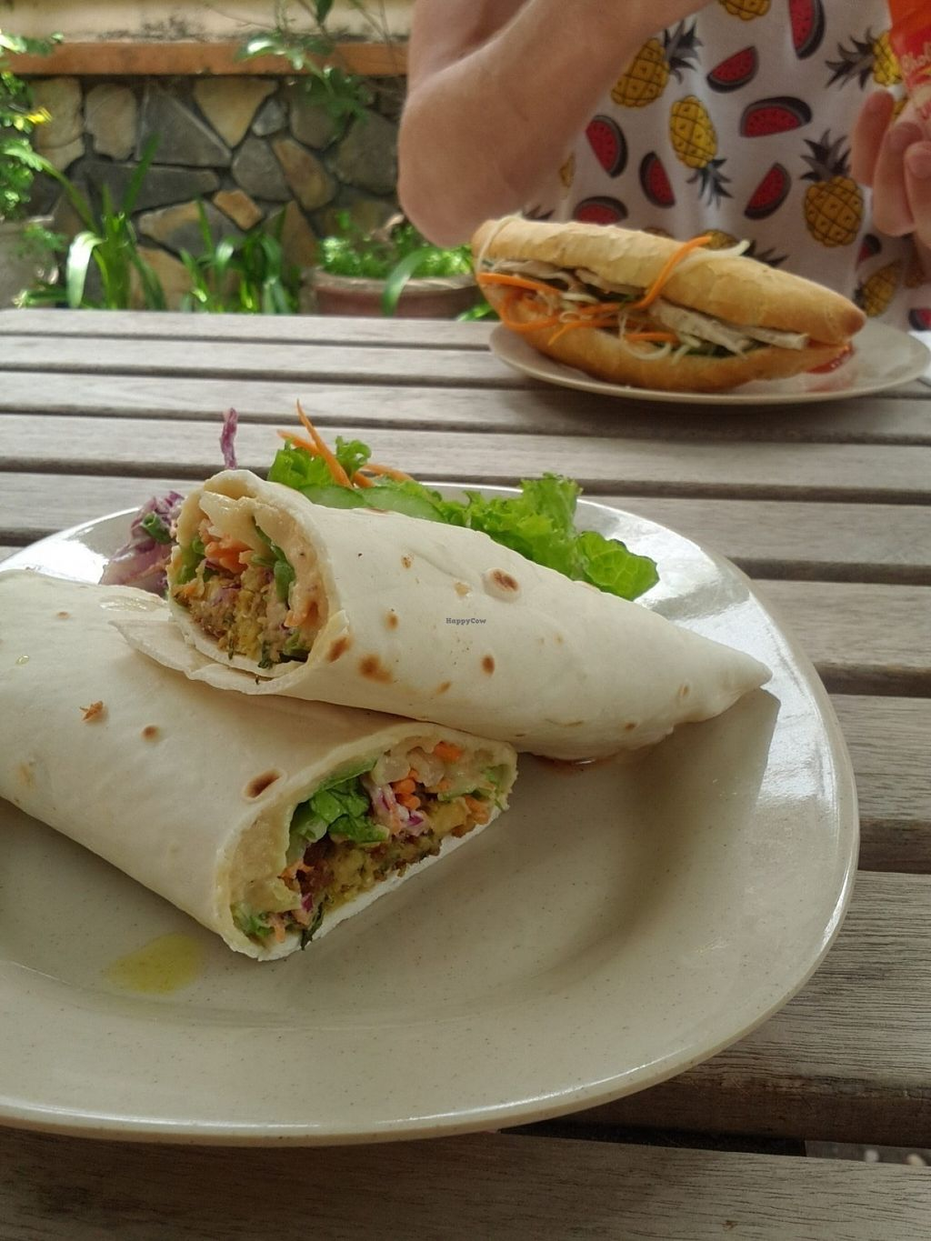 "Photo of Jack's Cat Cafe  by <a href=""/members/profile/Fairbridge"">Fairbridge</a> <br/>Falafel wrap -so good! <br/> July 16, 2016  - <a href='/contact/abuse/image/72185/160230'>Report</a>"