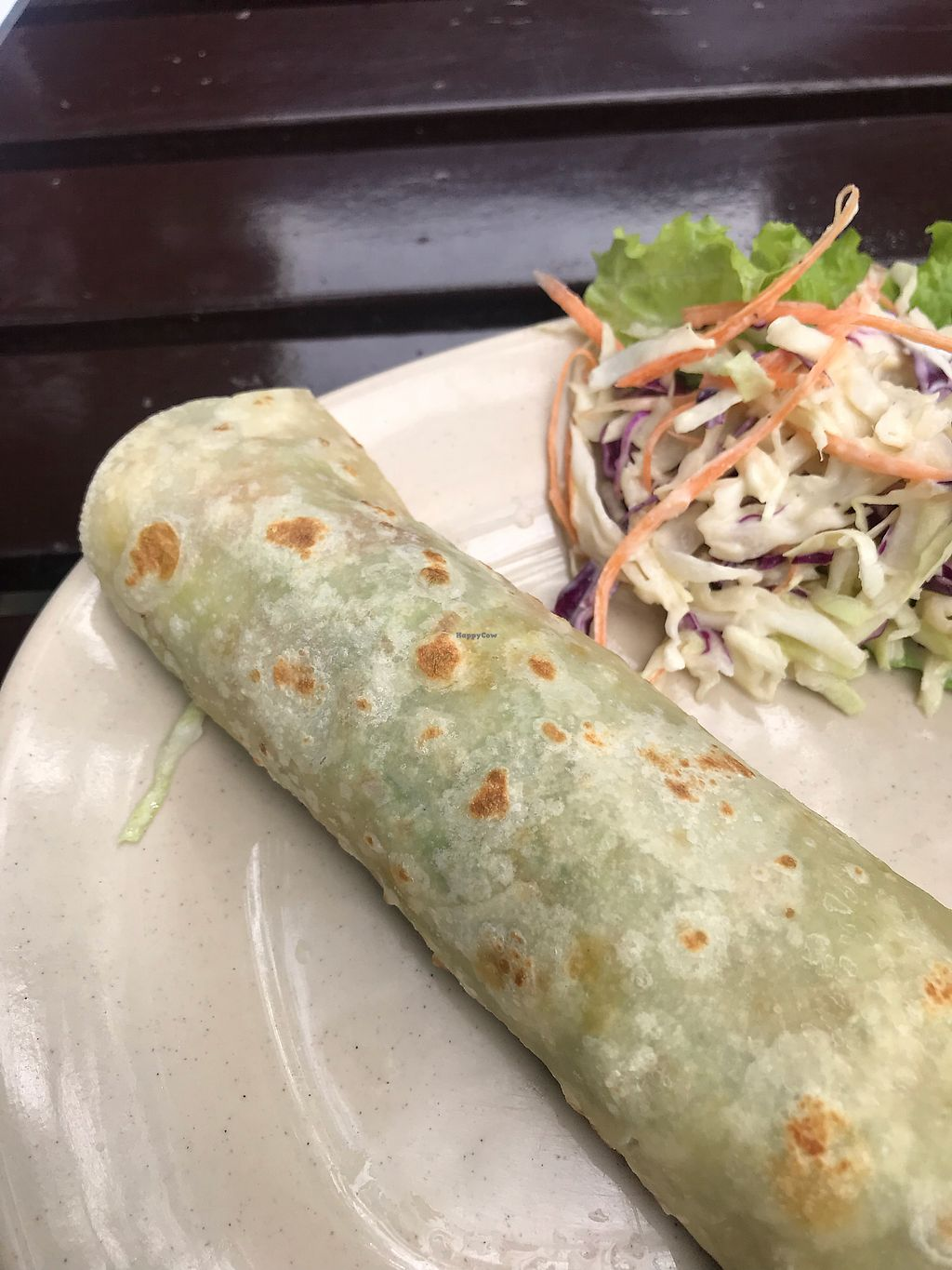 "Photo of Jack's Cat Cafe  by <a href=""/members/profile/vegetariangirl"">vegetariangirl</a> <br/>Vegan Garlic tofu wrap <br/> January 20, 2018  - <a href='/contact/abuse/image/72185/348761'>Report</a>"