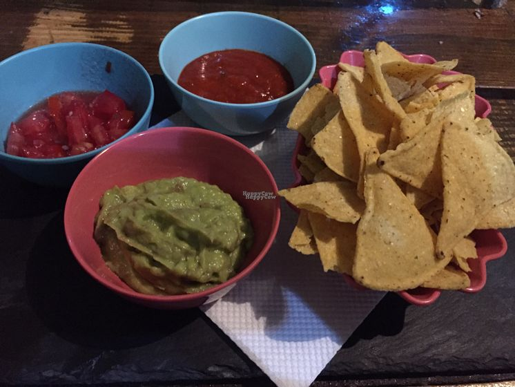"Photo of Beats & Burritos  by <a href=""/members/profile/The%20London%20Vegan"">The London Vegan</a> <br/>Nachos and Dips (Vegan Version - ask) <br/> August 24, 2016  - <a href='/contact/abuse/image/72193/171277'>Report</a>"