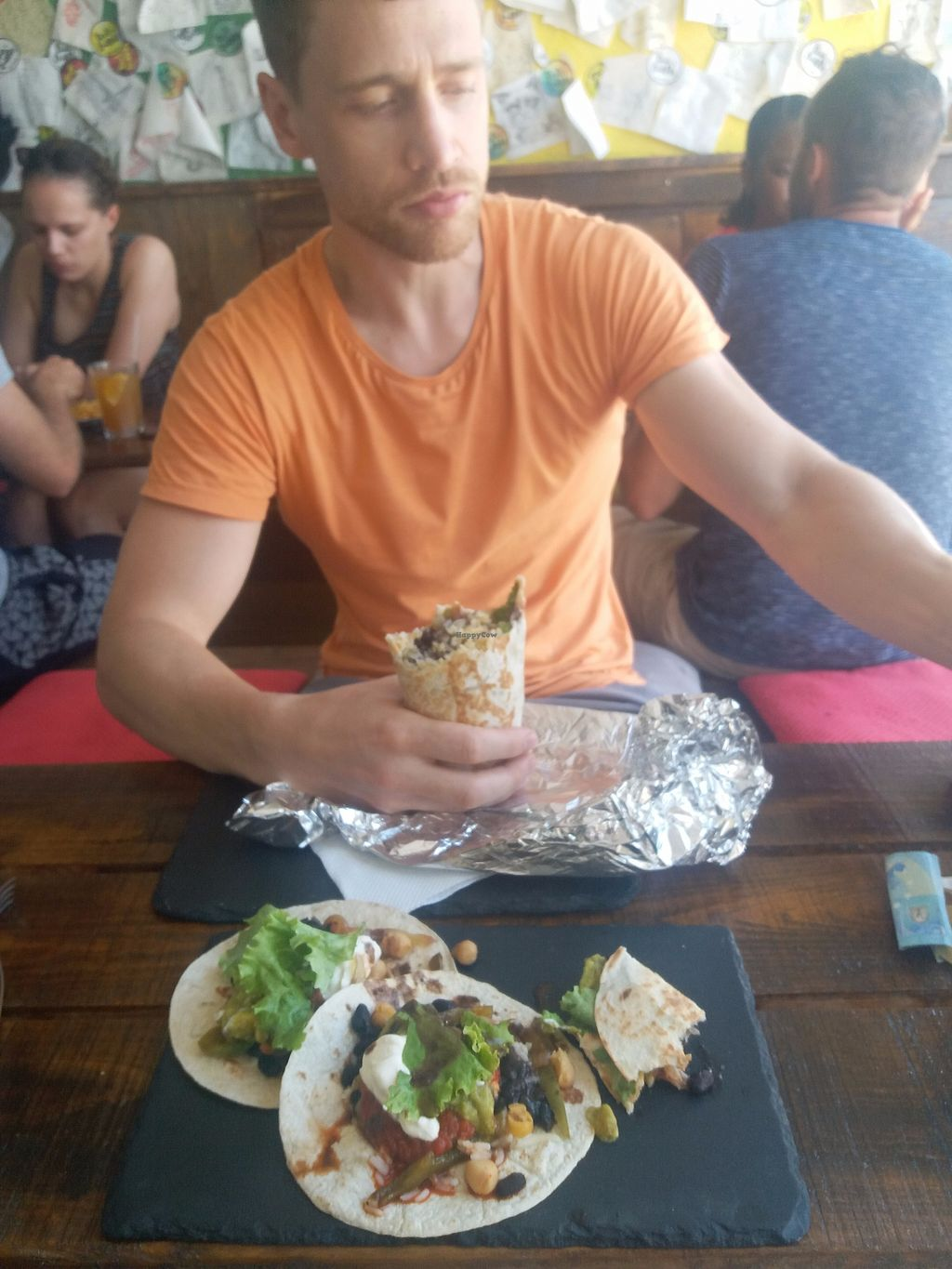 "Photo of Beats & Burritos  by <a href=""/members/profile/Libbytes"">Libbytes</a> <br/>burrito and tacos <br/> September 12, 2017  - <a href='/contact/abuse/image/72193/303603'>Report</a>"