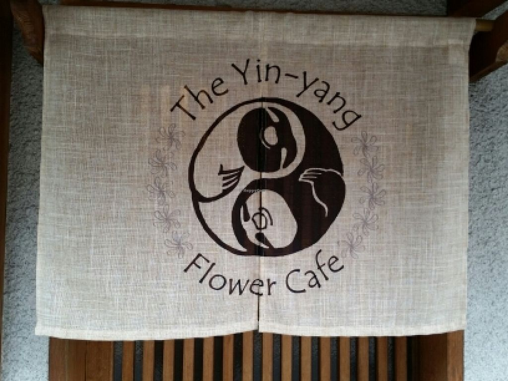 "Photo of Yin-Yang Flower Cafe - temporarily closed  by <a href=""/members/profile/eric"">eric</a> <br/>signage <br/> April 17, 2016  - <a href='/contact/abuse/image/72196/145043'>Report</a>"