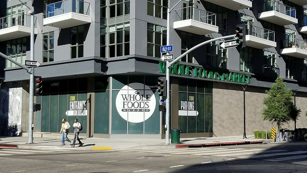"""Photo of Whole Foods Market - DTLA  by <a href=""""/members/profile/eric"""">eric</a> <br/>back side, parking entrance <br/> November 18, 2017  - <a href='/contact/abuse/image/72199/326806'>Report</a>"""