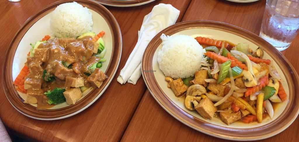 """Photo of Nida Thai Cuisine   by <a href=""""/members/profile/SarahSays"""">SarahSays</a> <br/>Vegan Thai Goodness!! <br/> July 14, 2016  - <a href='/contact/abuse/image/72201/159703'>Report</a>"""