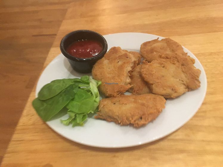 """Photo of Jolo's Restaurant and Venue  by <a href=""""/members/profile/TheVeganMom"""">TheVeganMom</a> <br/>Children's crispy tenders  <br/> June 17, 2017  - <a href='/contact/abuse/image/72206/270146'>Report</a>"""