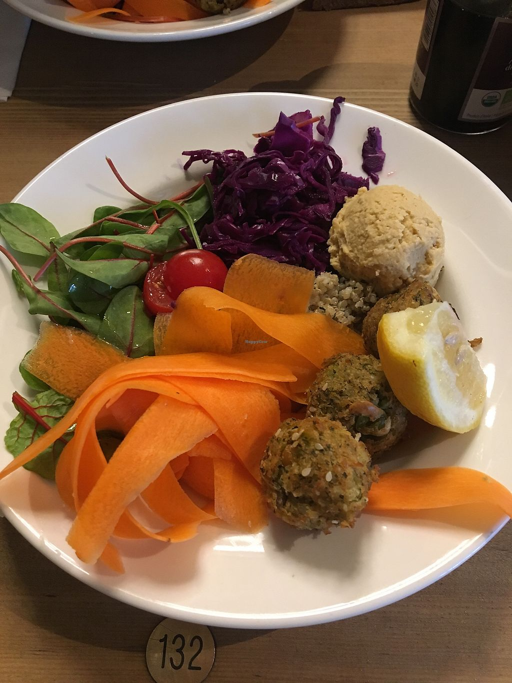 """Photo of Le Pain Quotidien - Saint-Lazare  by <a href=""""/members/profile/fyby"""">fyby</a> <br/>Falafel bowl <br/> February 15, 2018  - <a href='/contact/abuse/image/72219/359553'>Report</a>"""