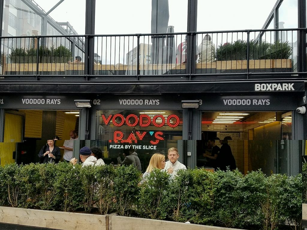 """Photo of Voodoo Rays - Boxpark  by <a href=""""/members/profile/eric"""">eric</a> <br/>outside <br/> September 23, 2017  - <a href='/contact/abuse/image/72229/307447'>Report</a>"""