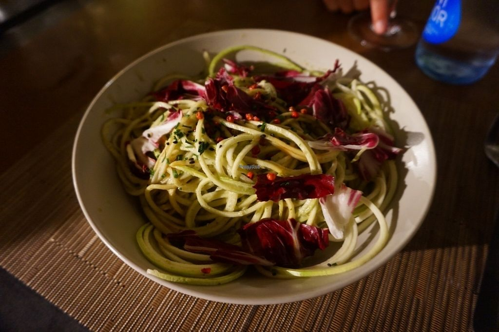 "Photo of CLOSED: S'alcadena  by <a href=""/members/profile/MMaree"">MMaree</a> <br/>Raw vegan spaghetti made from zucchini <br/> October 3, 2016  - <a href='/contact/abuse/image/72239/179486'>Report</a>"