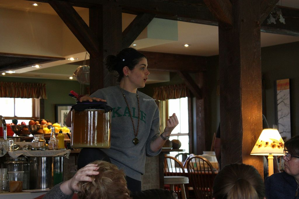 """Photo of Chef Lauren Marshall  by <a href=""""/members/profile/QuothTheRaven"""">QuothTheRaven</a> <br/>And fermenting <br/> May 24, 2016  - <a href='/contact/abuse/image/72247/150683'>Report</a>"""