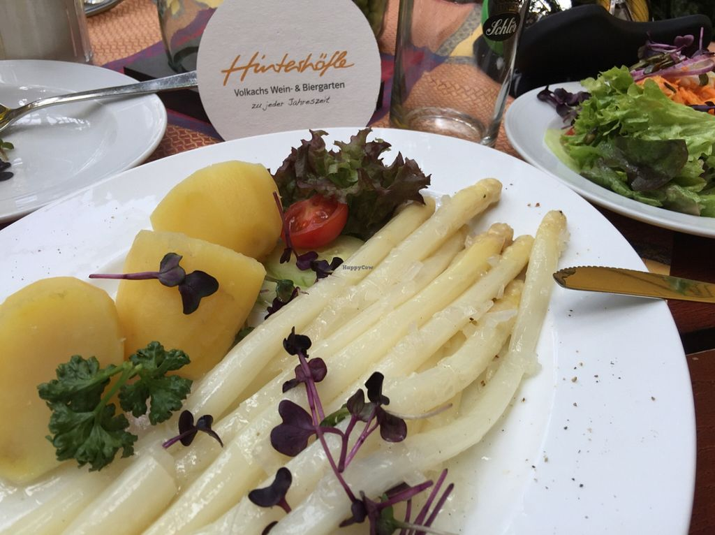 """Photo of Hinterhoefle  by <a href=""""/members/profile/macnothi"""">macnothi</a> <br/>Asparagus salad  <br/> May 3, 2016  - <a href='/contact/abuse/image/72249/147284'>Report</a>"""
