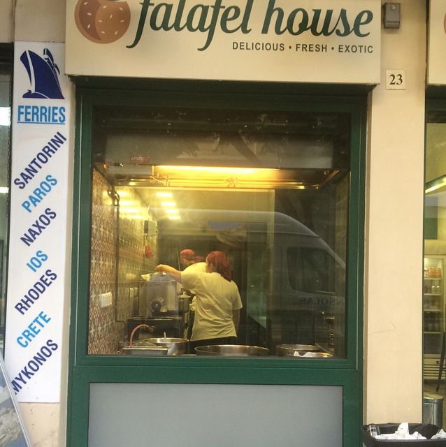 """Photo of Falafel House  by <a href=""""/members/profile/serrarose"""">serrarose</a> <br/>front of shop <br/> September 26, 2016  - <a href='/contact/abuse/image/72251/178110'>Report</a>"""