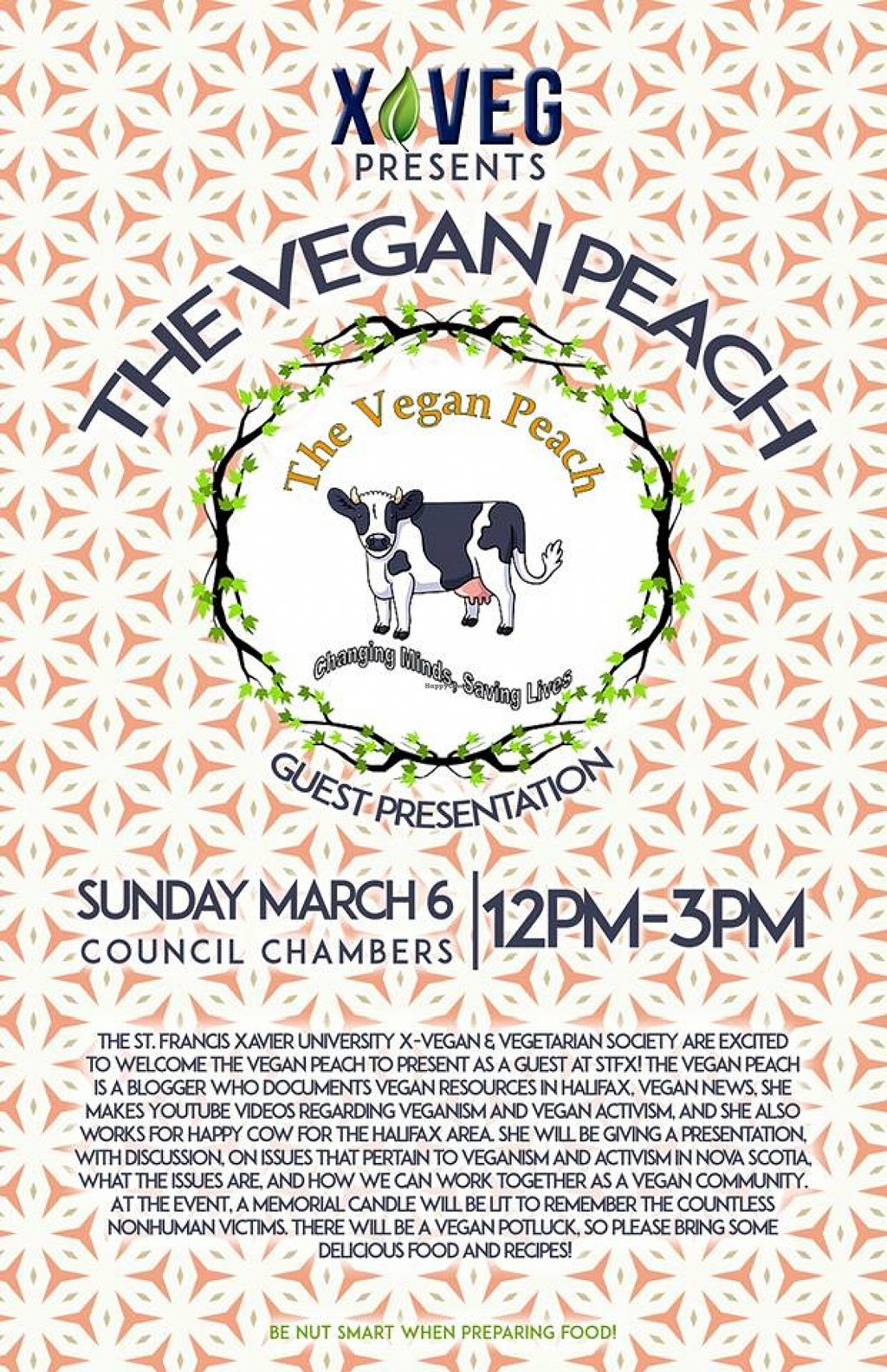 """Photo of The Vegan Peach  by <a href=""""/members/profile/QuothTheRaven"""">QuothTheRaven</a> <br/>stfx <br/> April 13, 2016  - <a href='/contact/abuse/image/72255/144364'>Report</a>"""