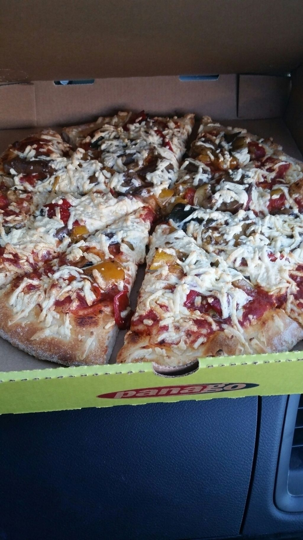 "Photo of Panago Pizza  by <a href=""/members/profile/AnnaluSkyfire"">AnnaluSkyfire</a> <br/>amazing vegan pizza <br/> November 12, 2016  - <a href='/contact/abuse/image/72269/189070'>Report</a>"
