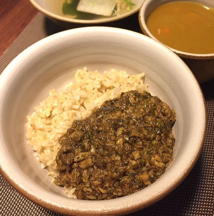 """Photo of Hsia An Chu Vegetarian  by <a href=""""/members/profile/HaileyPoLa"""">HaileyPoLa</a> <br/>Rice with vegan minced pork  <br/> June 11, 2017  - <a href='/contact/abuse/image/72275/267955'>Report</a>"""