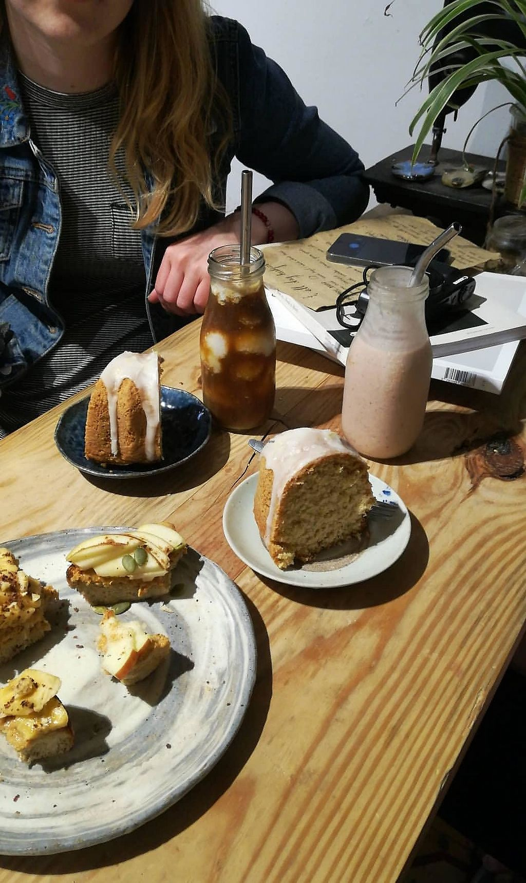 "Photo of La Studio  by <a href=""/members/profile/MeganDev"">MeganDev</a> <br/>Lemon coconut cake, fruit toast, coconut coffee and strawberry milkshake.  <br/> March 26, 2018  - <a href='/contact/abuse/image/72278/376215'>Report</a>"