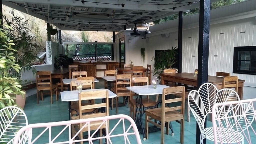 """Photo of Topanga Living Cafe  by <a href=""""/members/profile/eric"""">eric</a> <br/>patio <br/> May 4, 2017  - <a href='/contact/abuse/image/72300/255390'>Report</a>"""