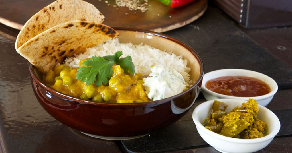 """Photo of The Bean Tree  by <a href=""""/members/profile/community"""">community</a> <br/>Madras Pea & Potato Curry <br/> May 23, 2016  - <a href='/contact/abuse/image/72333/150586'>Report</a>"""