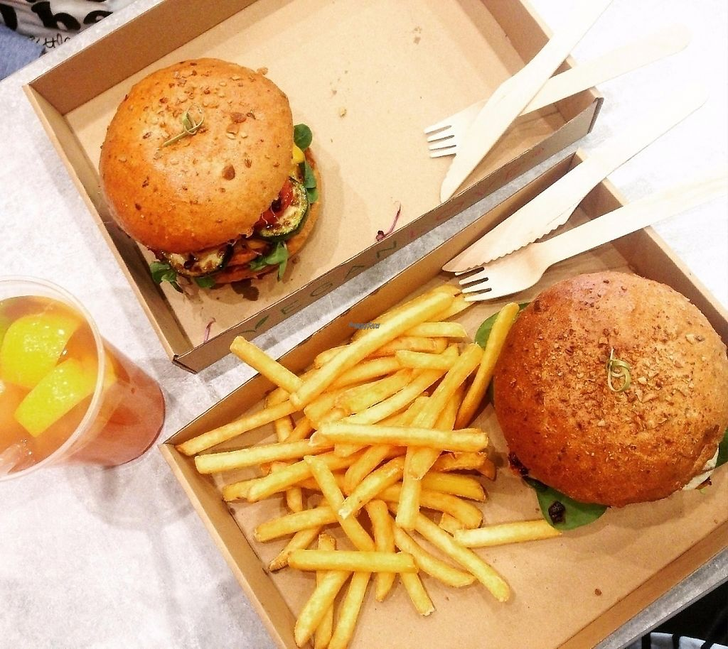 """Photo of Vegan Love  by <a href=""""/members/profile/imendes"""">imendes</a> <br/>beautiful burgers <br/> November 17, 2016  - <a href='/contact/abuse/image/72335/262285'>Report</a>"""