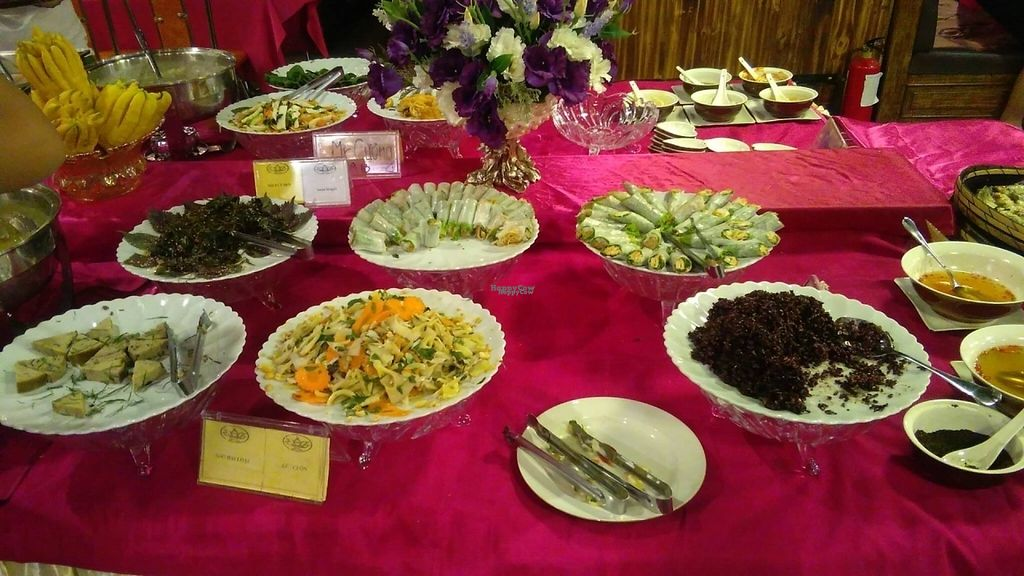 """Photo of An Lac Chay - Hoan Kiem  by <a href=""""/members/profile/KPike"""">KPike</a> <br/>Just some of the many dishes offered <br/> October 7, 2016  - <a href='/contact/abuse/image/72337/180215'>Report</a>"""