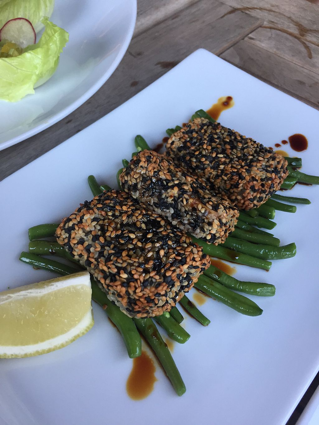"""Photo of Eqvita  by <a href=""""/members/profile/MeredithGraham"""">MeredithGraham</a> <br/>sesame tofu <br/> July 10, 2017  - <a href='/contact/abuse/image/72358/278681'>Report</a>"""