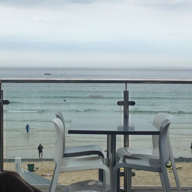 "Photo of Porthmeor Beach Cafe  by <a href=""/members/profile/Sallyliz"">Sallyliz</a> <br/>View from our alcove seating <br/> September 15, 2016  - <a href='/contact/abuse/image/72398/176006'>Report</a>"