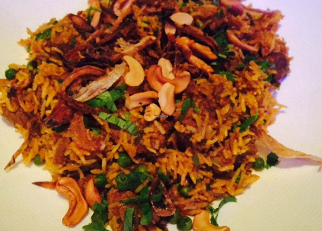 """Photo of Rasa Indian Restaurant  by <a href=""""/members/profile/community"""">community</a> <br/>Masala Rice with Cashews <br/> March 22, 2017  - <a href='/contact/abuse/image/72403/239454'>Report</a>"""
