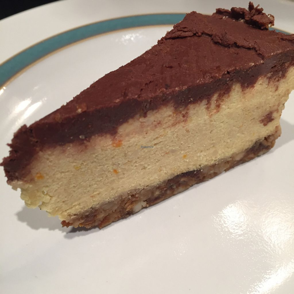 """Photo of CLOSED: Gringos Vegan Kitchen  by <a href=""""/members/profile/SaraFitz"""">SaraFitz</a> <br/>I don't actually know what this dessert is made out of but I loved it nonetheless! <br/> June 1, 2016  - <a href='/contact/abuse/image/72407/151804'>Report</a>"""