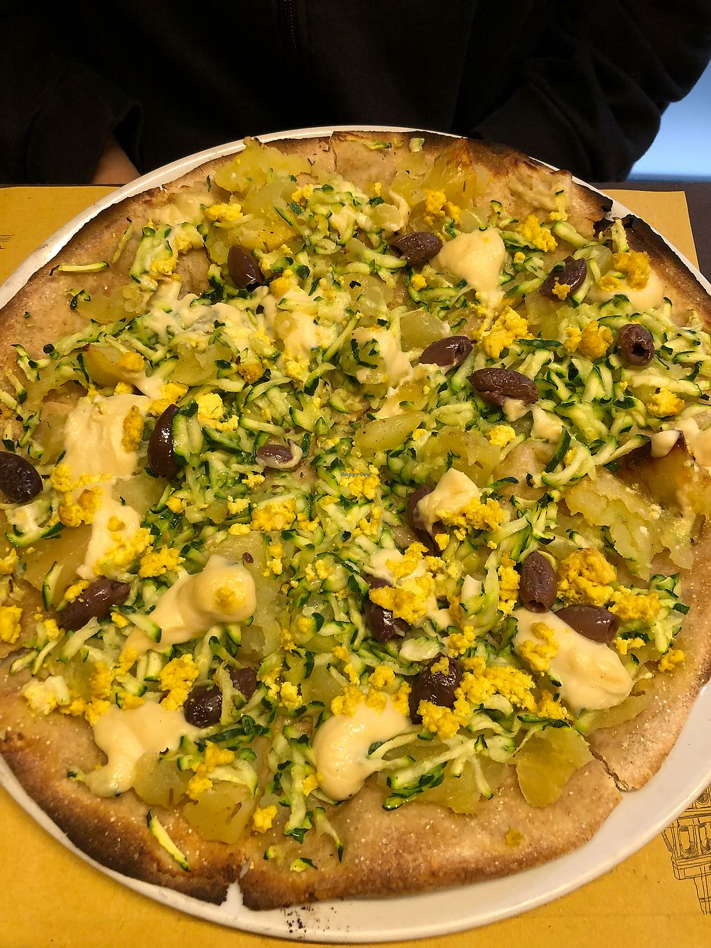 "Photo of Rifugio Romano  by <a href=""/members/profile/_hael"">_hael</a> <br/>Broccoli, Potato & Seitan Vegan Pizza <br/> February 27, 2018  - <a href='/contact/abuse/image/72423/364520'>Report</a>"