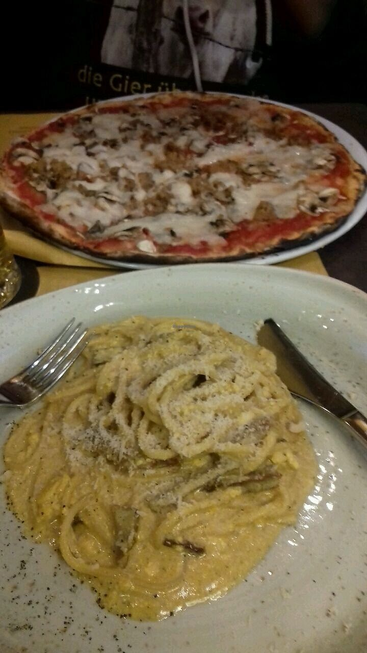 "Photo of Rifugio Romano  by <a href=""/members/profile/MartinaA."">MartinaA.</a> <br/>Pizza und Pasta <br/> March 16, 2018  - <a href='/contact/abuse/image/72423/371446'>Report</a>"