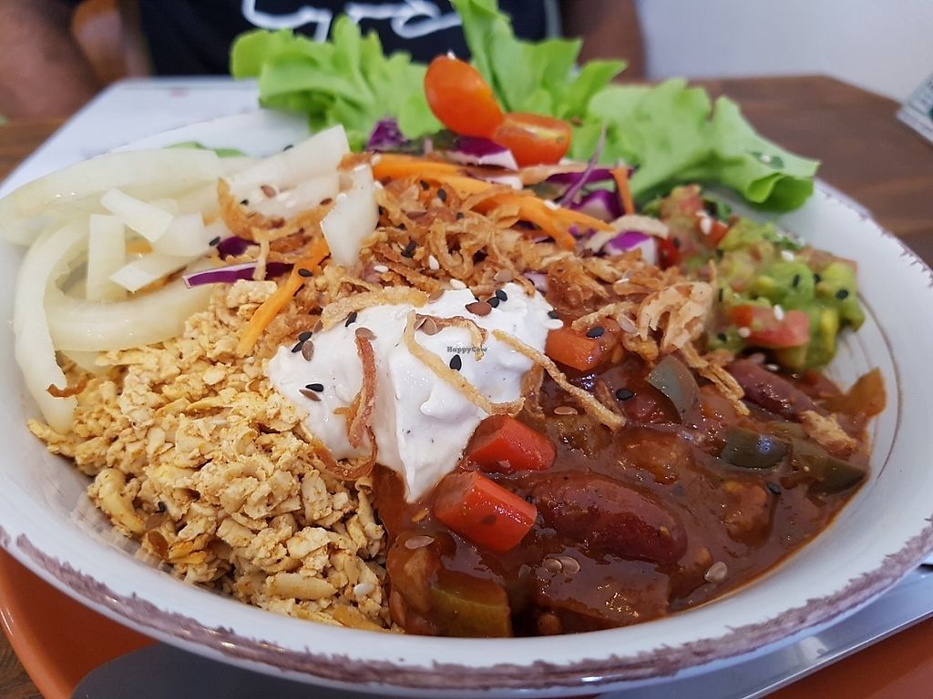 """Photo of Pure Vegan Heaven  by <a href=""""/members/profile/Rosa%20veg"""">Rosa veg</a> <br/>Mexican bowl <br/> May 2, 2017  - <a href='/contact/abuse/image/72425/254916'>Report</a>"""