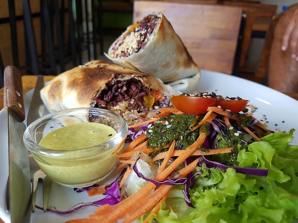 """Photo of Pure Vegan Heaven  by <a href=""""/members/profile/Rosa%20veg"""">Rosa veg</a> <br/>Burritos <br/> May 2, 2017  - <a href='/contact/abuse/image/72425/254918'>Report</a>"""