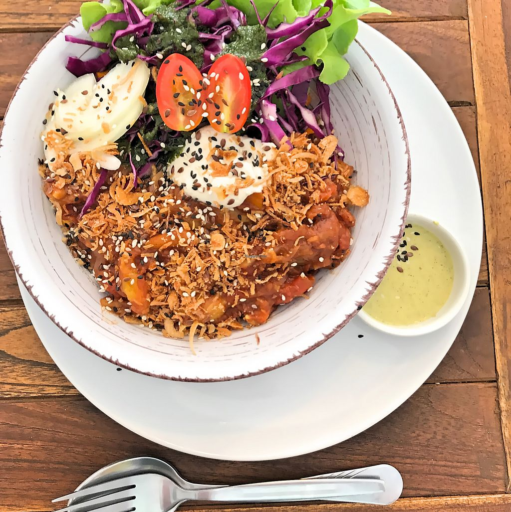 """Photo of Pure Vegan Heaven  by <a href=""""/members/profile/SoniaGivray"""">SoniaGivray</a> <br/>Bbq Vegan Bowl  <br/> June 15, 2017  - <a href='/contact/abuse/image/72425/269297'>Report</a>"""
