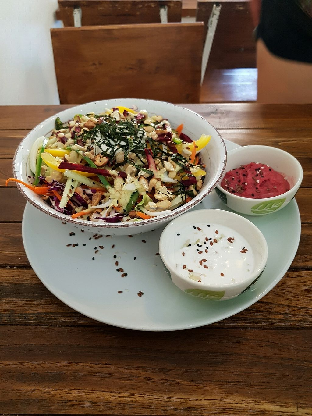 """Photo of Pure Vegan Heaven  by <a href=""""/members/profile/vegatleticas"""">vegatleticas</a> <br/>Rawsome Bowl <br/> February 25, 2018  - <a href='/contact/abuse/image/72425/363449'>Report</a>"""