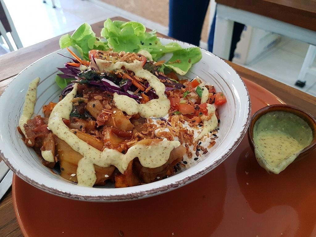 """Photo of Pure Vegan Heaven  by <a href=""""/members/profile/vegatleticas"""">vegatleticas</a> <br/>BBQ bowl <br/> February 25, 2018  - <a href='/contact/abuse/image/72425/363451'>Report</a>"""