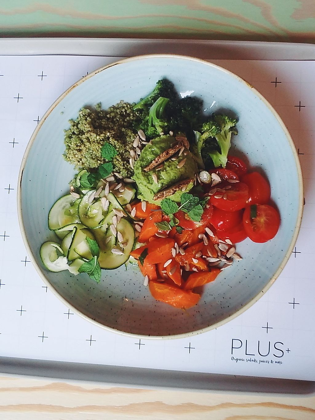 """Photo of PLUS  by <a href=""""/members/profile/unmond"""">unmond</a> <br/>vegan salad option <br/> July 21, 2017  - <a href='/contact/abuse/image/72433/282859'>Report</a>"""