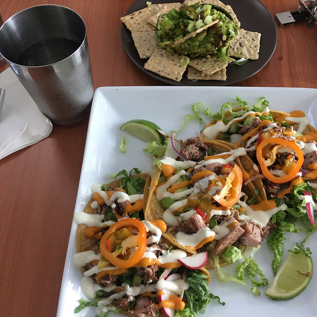 """Photo of Cafe Wylde  by <a href=""""/members/profile/Brimartyy"""">Brimartyy</a> <br/>peach habanero taco and avocado dip?  <br/> June 5, 2017  - <a href='/contact/abuse/image/72436/266001'>Report</a>"""