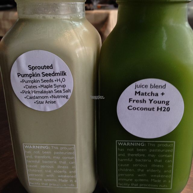 """Photo of PURE Simple Juice  by <a href=""""/members/profile/HippieFood"""">HippieFood</a> <br/>glass bottles <br/> October 7, 2016  - <a href='/contact/abuse/image/72448/180416'>Report</a>"""